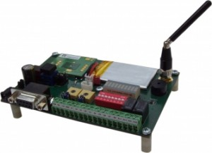 Python powered PLC with GPRS module