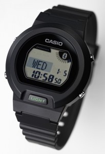 casio bluetooth low energy watch 205x300 Casio Bluetooth Low Energy Watch communicates with smartphones