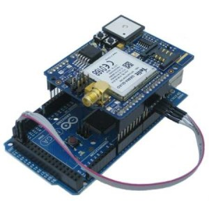 Arduino Mega GSM GPS shield