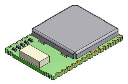 The smallest GPS module with embedded GPS antenna?