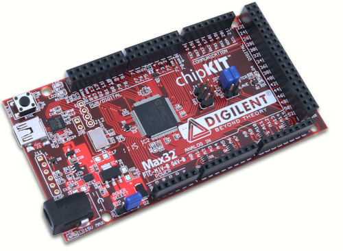 chipKIT Max32 IOT, AVL, Smart Home, AAL, M2M and M2M2P on Arduino
