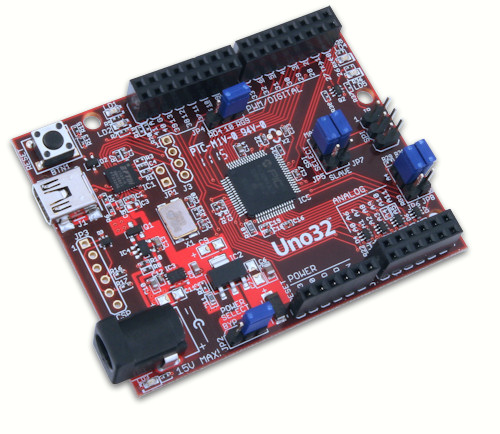 chipKIT Uno32 IOT, AVL, Smart Home, AAL, M2M and M2M2P on Arduino