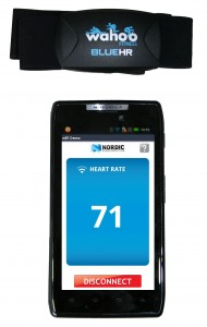 Nordic nRF8002 Heart Rate Monitor on Motorola Razr Droid