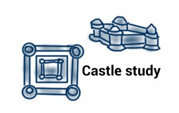 Castle with round corners