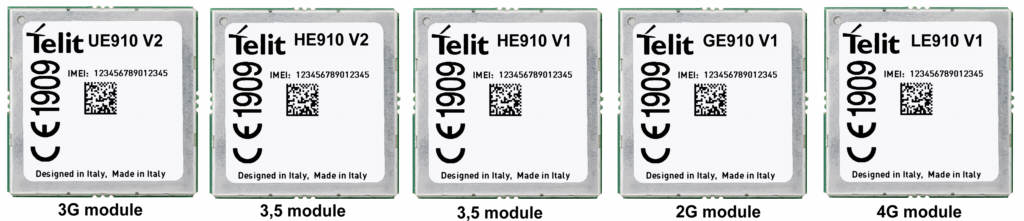 UE910 - HE910 - GE910 - LE910