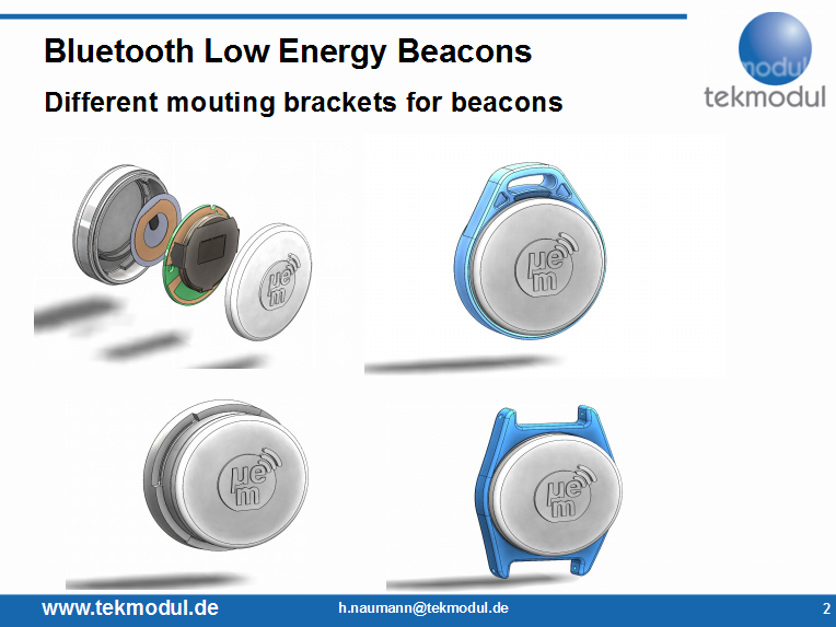 Bluetooth Low Energy-beacon / iBeacon