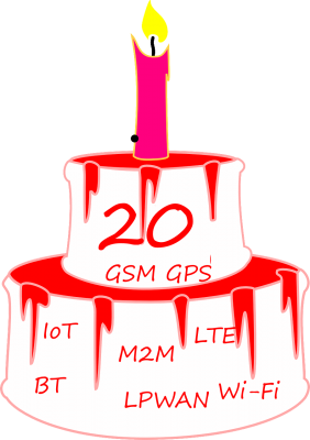 20 years in GSM and GPS