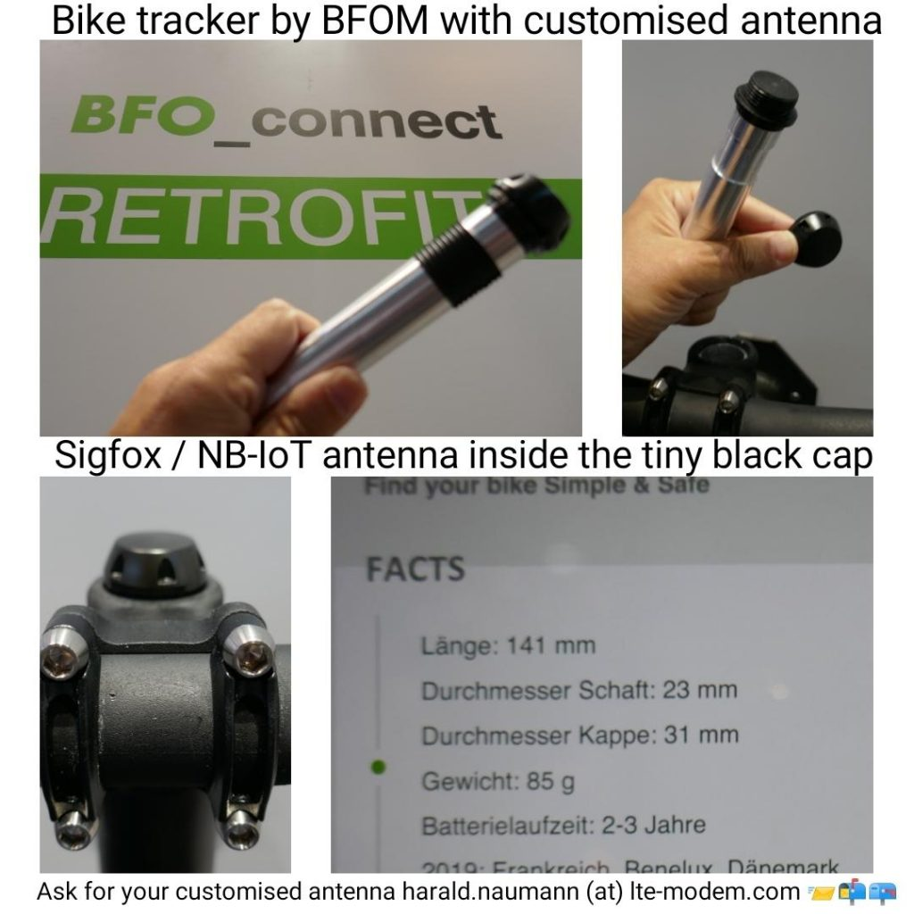 Bike tracker at Eurobike