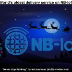 The oldest delivery service in the world now obtains NB-IoT