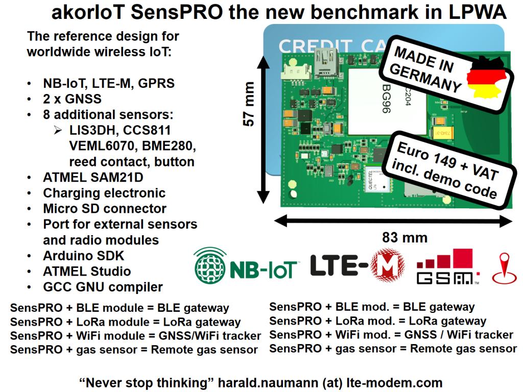akorIoT-SensPRO-NB-IoT