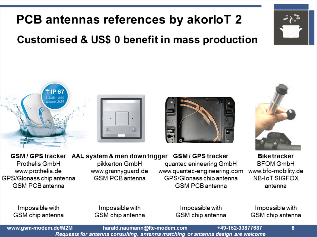 Antenna reference customers 2