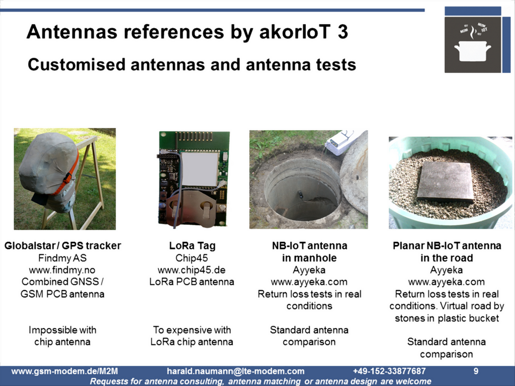 Antenna reference customers 3