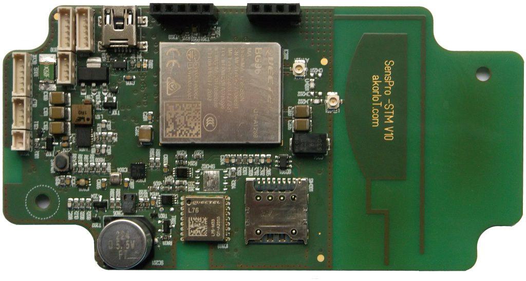 akorIoT SensPRO PCB