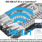 NB-IoT antenna design in a matchbox