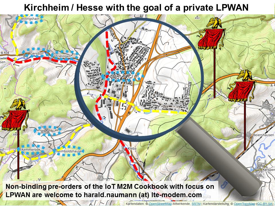 Private LPWAN for Kirchheim in Hesse
