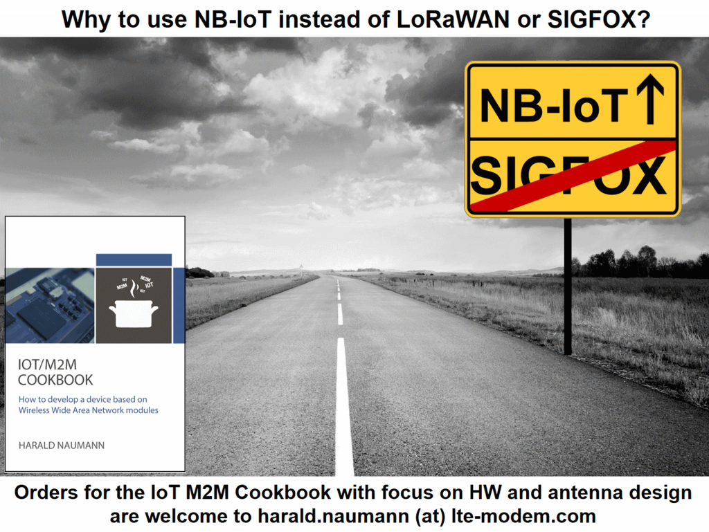 Why NB-IoT instead or LoRaWAN and Sigfox