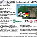 akorIoT SensPRO - NB-IoT , LTE-M, GPRS reference design