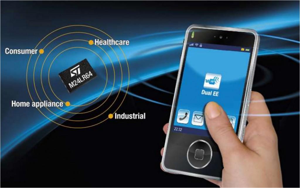 NFC/RFID on chip