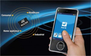 NFC on chip smartphone 300x187 NFC / RFID on chip   simple paring of Bluetooth of WIFI for all of us