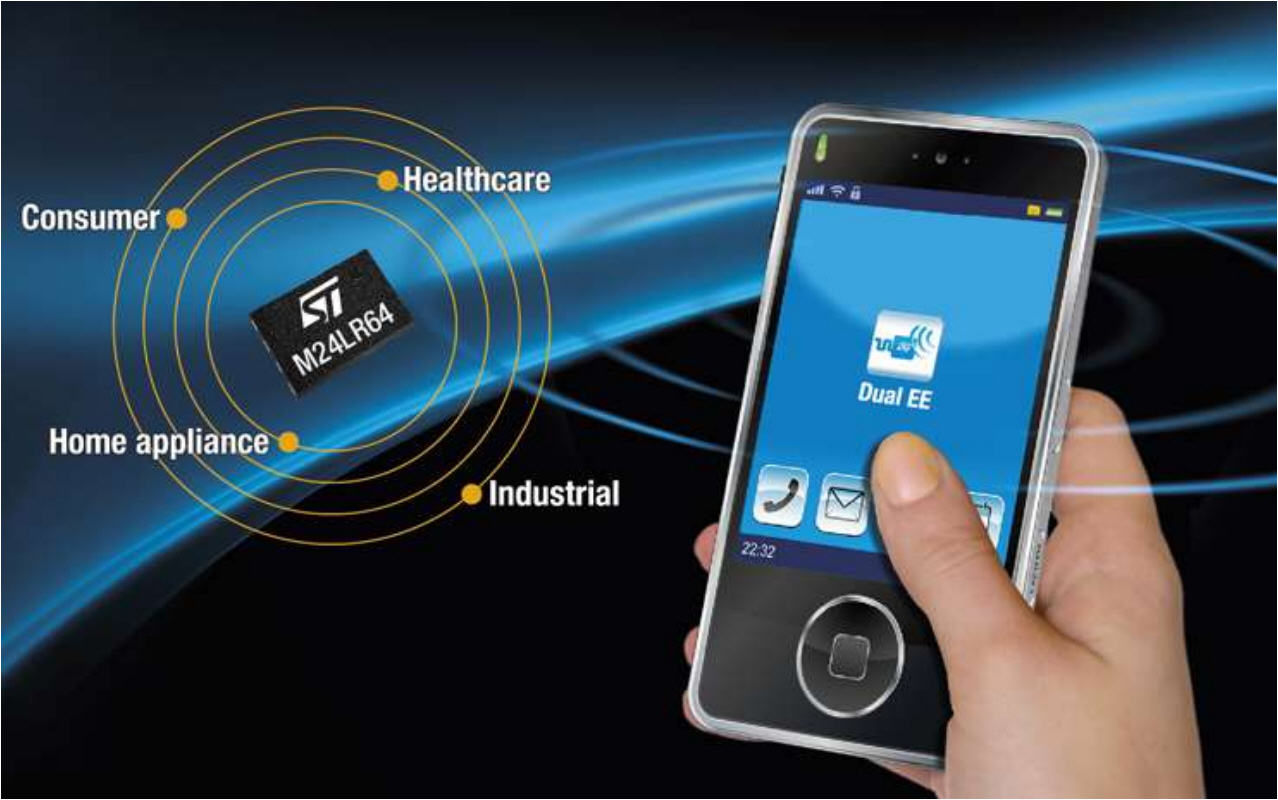 NFC/RFID on chip - simple paring of Bluetooth of WIFI for all of us