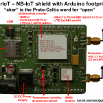 NB-IoT Shield Arduino