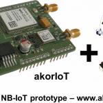 NB-IoT-module on Arduimo shield