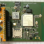 NB-IoT / GSM eval kit with Arduino Nano or STM32 Nucleo 32
